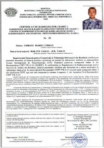 certificat cl I yo8rku